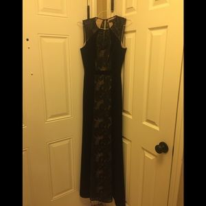 BCBG dressy Black Gown